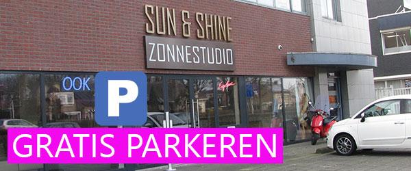 Gratis Parkeren bij Sun & Shine