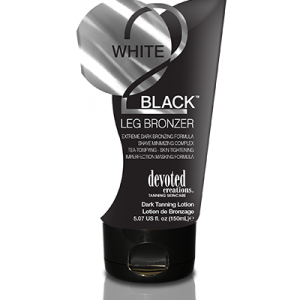 WHITE 2 BLACK LEG BRONZER