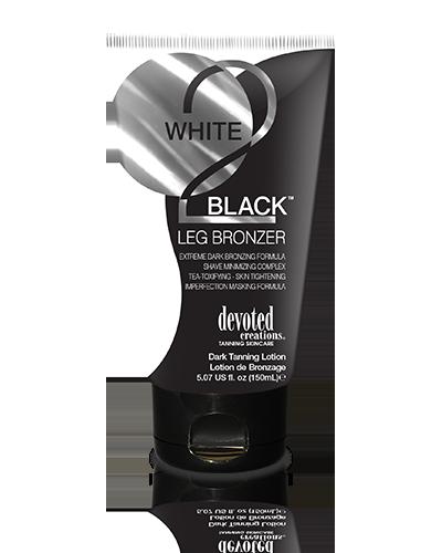 WHITE 2 BLACK LEG BRONZER