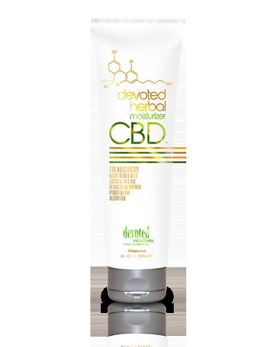 Devoted Herbal CBD Moisturizer